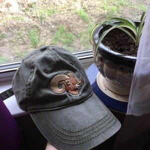 Accessories - Fade Green Hipster Ram Dad Hat